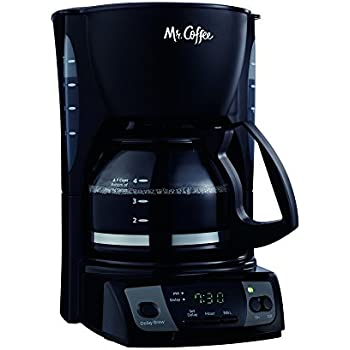 Cuisinart Coffee Maker Thermal Carafe Problems : Amazon.com: Mr. Coffee JWX9 5-Cup Programmable Coffeemaker, Black with Stainless Steel Carafe ...
