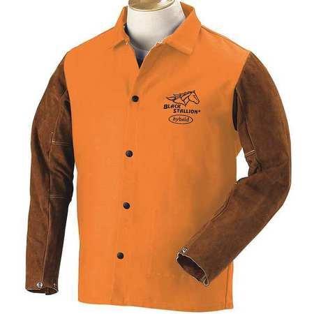 Welding Jacket, FR, Cow Split, Orange, XL
