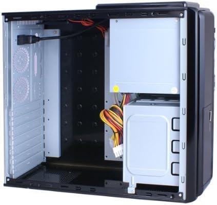 ADVANCE Caja PC Slimline 8908B para ATX y mATX + alimentación 480 ...