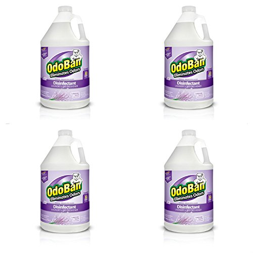 OdoBan Disinfectant Odor Eliminator and All Purpose Cleaner Concentrate, , 128 oz (4, -
