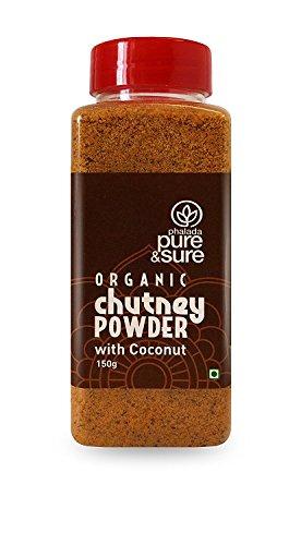 Pure & Sure Organic Chutney Powder - Coconut 150gm