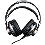 Headset Gamer 7.1 Surround Channel Com Microfone - Led Laranja - Cabo 2,2 Metros - Hgss71 - Elg Extreme, Elg, Microfones e Fones de Ouvido
