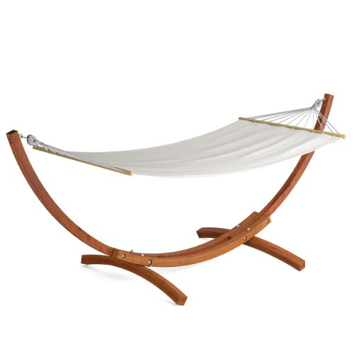 CorLiving PWC-334-H Wood Canyon Larch Wood Patio Hammock by CorLiving