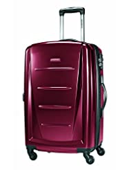 Samsonite Winfield 2 Spinner 28-Inch Expandable Wheeled Luggage, Red