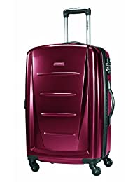 Samsonite Winfield 2 Spinner 24-Inch Expandable Wheeled Luggage, Red