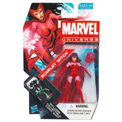 Marvel Universe Series 4 Scarlet Witch #016 3.75 Inch