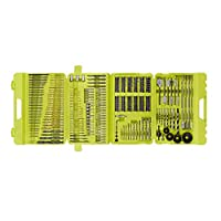 Deals on 300-Pc Ryobi A983002 Multi-Material Drill and Drive Kit w/Case