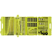 HomeDepot.com deals on 300-Pc Ryobi A983002 Multi-Material Drill and Drive Kit w/Case