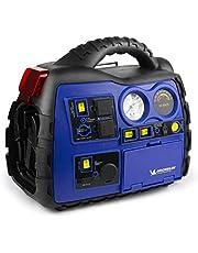 MICHELIN ML0728 Fuente de alimentación XR1 portátil de 1000 amperios con compresor de Aire e inversor de Potencia de sobretensión de 400 vatios y Bluetooth