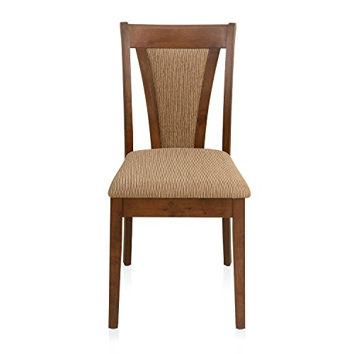@home by Nilkamal Jewel Dining Chair  Walnut