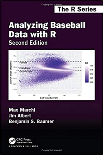 Analyzing Baseball Data with R book cover