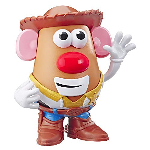 Mr Potato Head Disney/Pixar Toy Story 4 Woody's Tater Roundup Figure Toy for Kids Ages 2 & Up ()