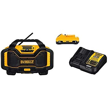 DEWALT 7.2V-18V Radio and Battery Charger (DC012) - Cordless ... on