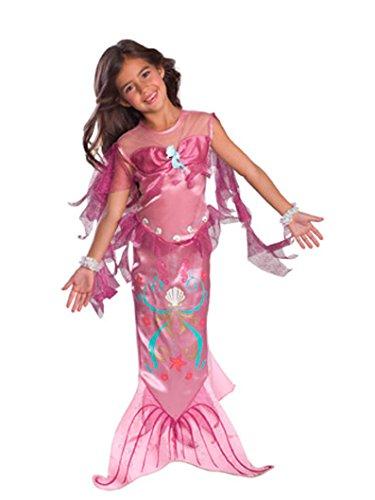 Let's Pretend Pink Mermaid Costume,Medium 8-10