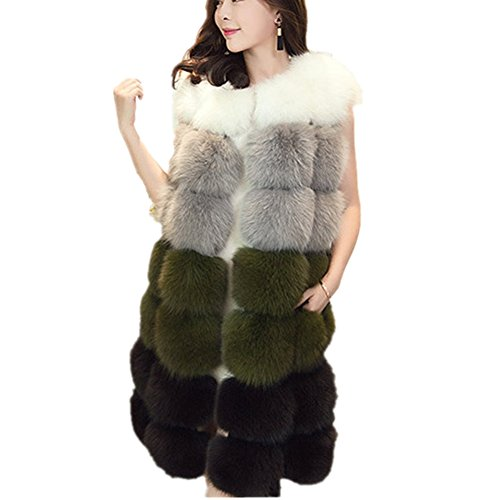 Natural Fox Fur Jacket - 9