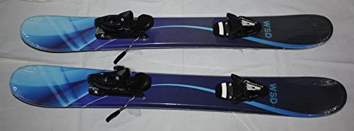 Skiboards Ski boards WSD Bluewave 100cm wide with adult Tyrolia SX10 release Bindings mount - New