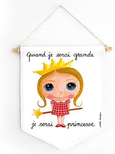 Bannière : Quand je serai grande, je serai princesse