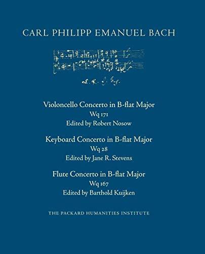 Concerto in B-flat Major, Wq 171 (CPEB:CW Offprints)