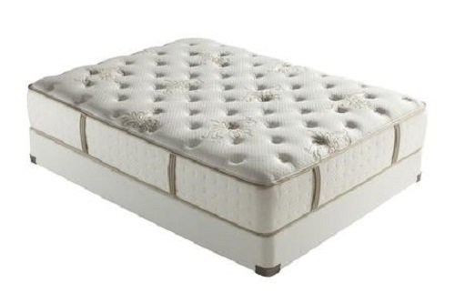 STEARNS AND FOSTER CORE SERIES WHITNEY BROOK LUXURY PLUSH EURO PILLOW TOP KING SIZE MATTRESS SET