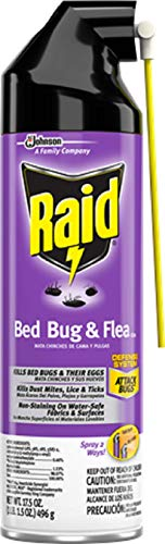 Raid Max Bed Bug & Flea Killer I, 17.5 oz