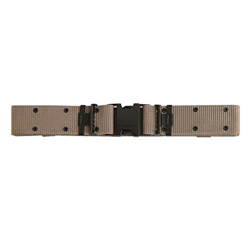 (Rothco New Issue Quick Rls Pistol Belt, Khaki, Large)