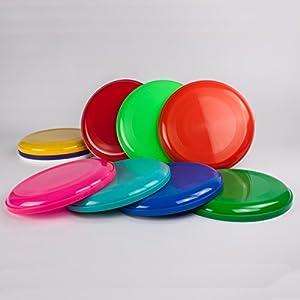 Frisbee Disc / Frisbees / Wurfscheiben farblich gemischt, 5 Stück
