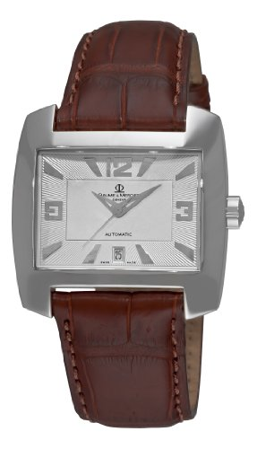 Baume-Mercier-Mens-8254-Hampton-Spirit-Automatic-Leather-Watch