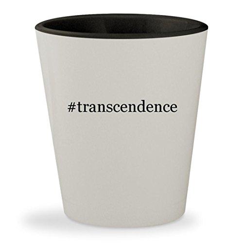 Price comparison product image #transcendence - Hashtag White Outer & Black Inner Ceramic 1.5oz Shot Glass