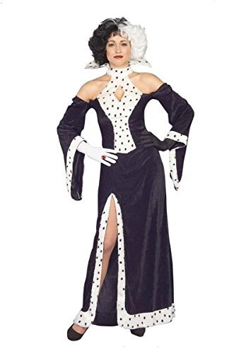 Women's Dog Lovin' Diva (Cruella Costume Uk)