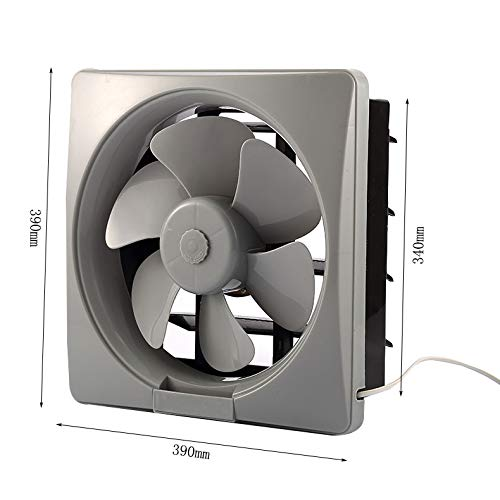 Moolo Exhaust Fan, Low Noise, Large Wind Louvered Bathroom Ventilation Fans by Moolo (Image #1)