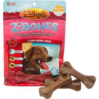 Zukes Z-Bones Multi-Count Regular Clean Berry Crisp 8-ct
