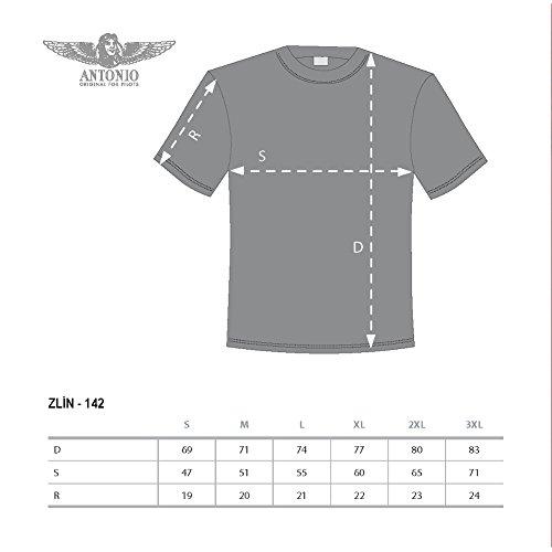 T-Shirt mit Kunstflugzeug ZLÍN-142