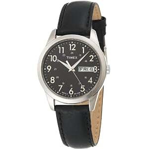 Timex T2N107PF - Reloj de caballero de cuarzo con correa de piel - sumergible a 30 metros