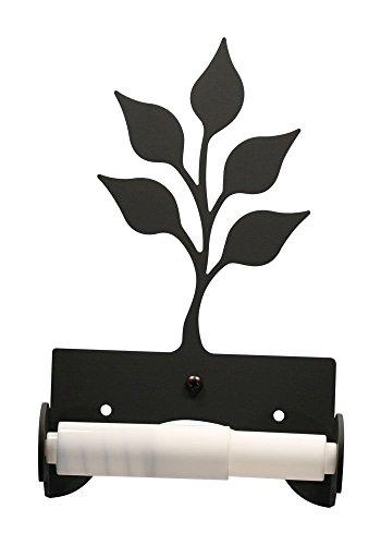 Village Wrought Iron TT-B-76 Leaf Toilet Tissue Holder