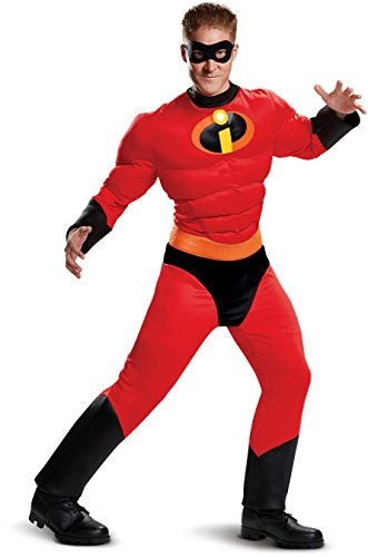Disguise Incredibles 2 Classic Mr. Incredible Muscle Costume Adults