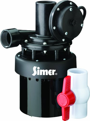 Drain Tray Threaded Fitting - Simer 2935B 1/3 HP Utility Sink Sump Pump