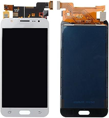 BisLinks® Reemplazo para Samsung Galaxy J5 2015 LCD Display Toque Pantalla Digitizer Blanco J500 J500FN Reemplazo Parte: Amazon.es: Electrónica