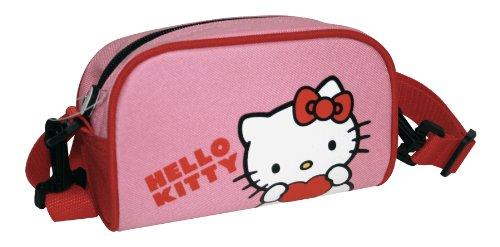 Hello Kitty Mädchen Lenkertasche Universal, rosa, 11 x 17 cm, 801985