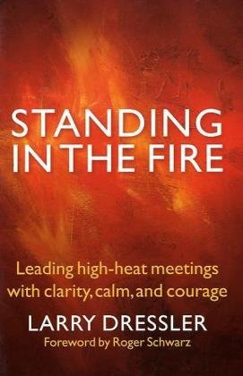 Read Online Standing in the Fire: Leading High-Heat Meetings with Clarity, Calm, and Courage pdf epub