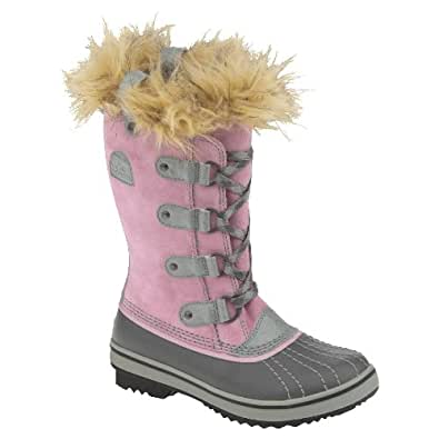 Amazon.com | Sorel Youth Tofino Snow Boots - Pink Lady