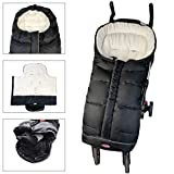 CPC Certified Toddler Stroller Footmuff Cosy Toe Buggy Pushchair Sleeping Bag, Easy Open & Removable Front Piece,Special Design Fits All Travel Gears Perfectly,6-42M