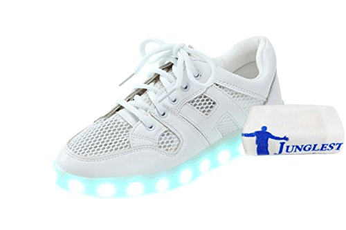 Charging JUNGLEST® towel Hook Present and small Loop c5 USB Unisex Luminous Sports Kids LED Straps Shoes wFwgTEqYc