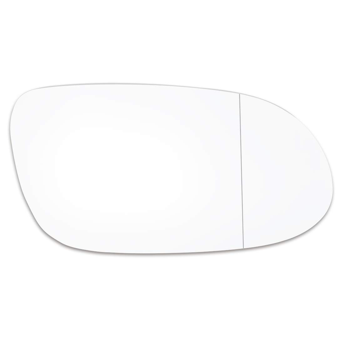 X AUTOHAUX Car Passenger Right Side Rearview Mirror Glass Adhesive for Mercedes Benz CLK SL SLK AMG MODEL
