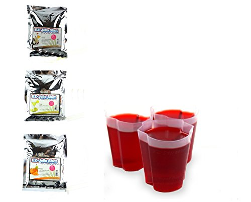 EZ Squeeze Halloween Candy Corn Mix and 100 Shot Cup Holiday (Halloween Drinks Tipsy Bartender)