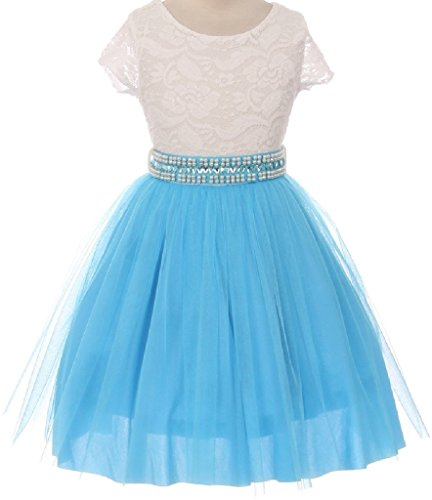 Romantic Bridals Flower Girl Dress - 7