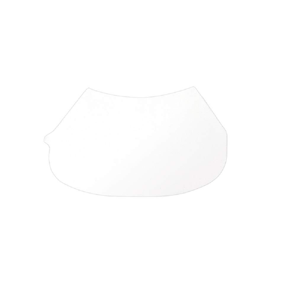 SAS Safety 7600-95 Peel-Away Lens Cover for Opti-Fit Respirator, 25 Per Package, Clear by SAS Safety