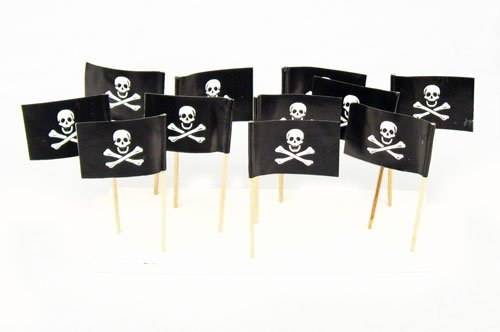 Jolly Roger Pirate Flag Toothpicks product image
