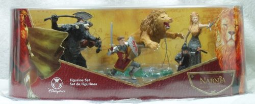 The Chronicles Of Narnia - The Lion The Witch And The Wardrobe Figure Set