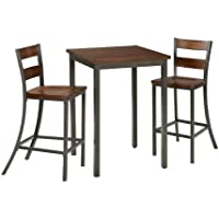Home Styles 5411-359 Cabin Creek 3-Piece Bistro Set
