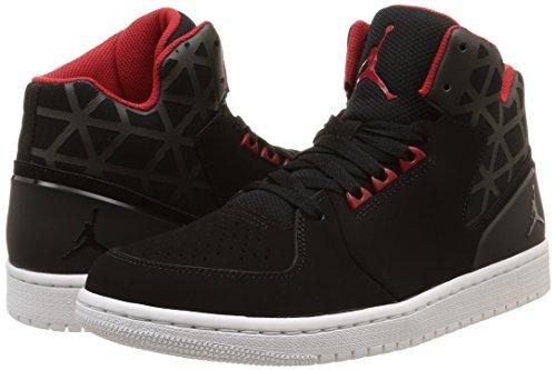 Flight 3 Black white Red Sportive Uomo Scarpe 1 gym Nike Jordan HqwxnEFB